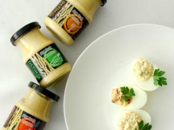 Jaja faszerowane na 3 sposoby