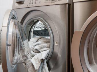 Czysta pralka i zmywarka do naczyń